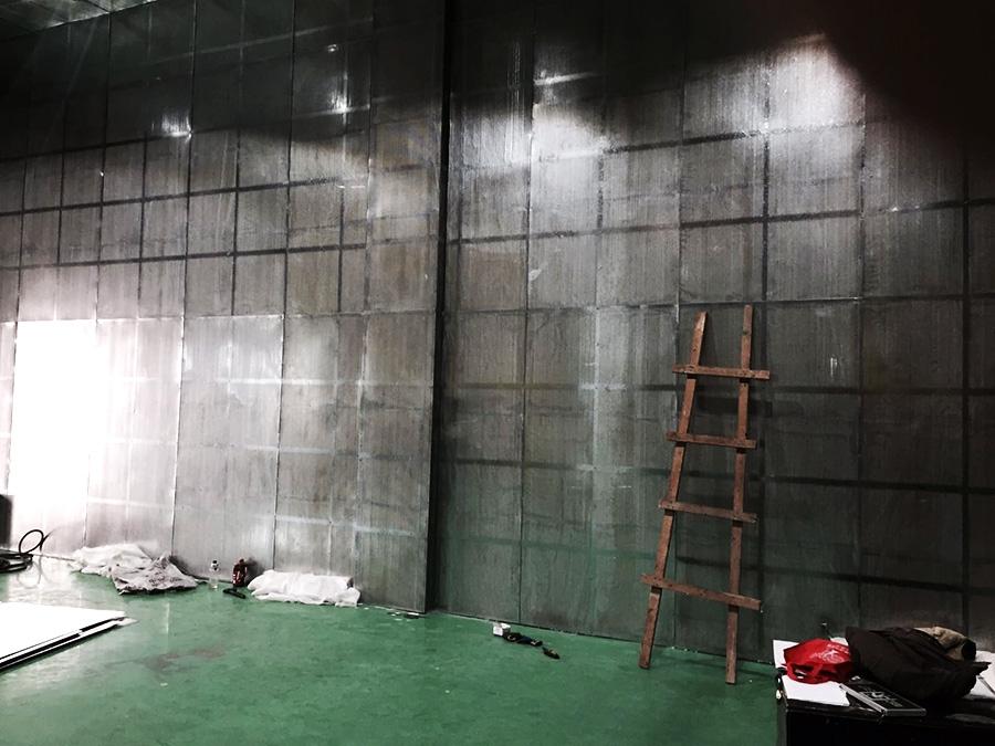 墙壁吸声结构